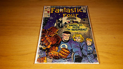 Fantastic Four #45 - Marvel Comics - December 1965 - 1st Print - 1st Inhumans