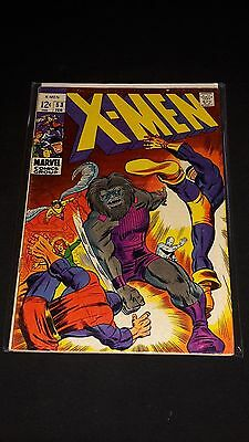 Uncanny X-Men #53 - Marvel Comics - February 1969 - 1st Print