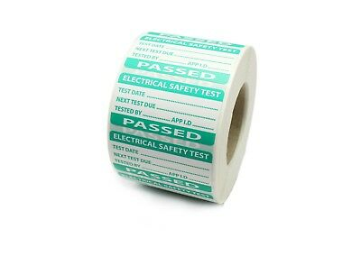 PAT Testing - Passed  Labels / Stickers - PP Durable Tear Proof Labels
