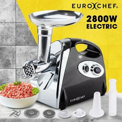 2500W Stainless Steel Electric Meat Grinder Mincer Grinder Sausage Filler Kebbe