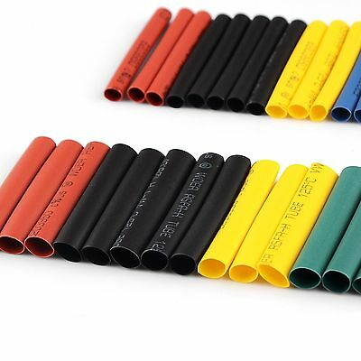 70pcs Glue Weatherproof Heat Shrink 2:1 Sleeve Tubing Tube Assortment Kit  1-6mm