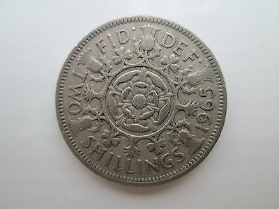 1965 Elizabeth II Florin / Two Shillings Coin