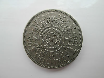 1967 Elizabeth II Florin / Two Shillings Coin