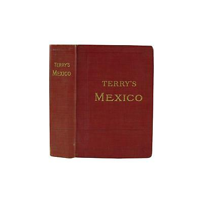 Appealing Terry's Guide to Mexico with Maps, 1909