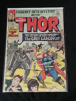 Thor #107 - Marvel Comics - August 1964 - 1st Print - Journey Into Mystery