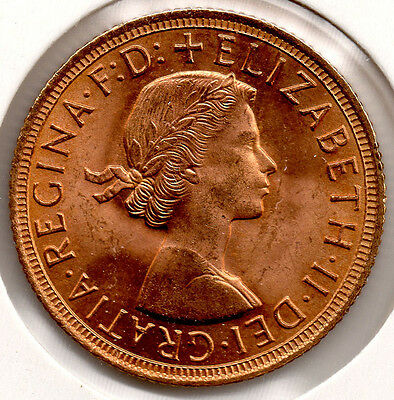 1958 Full Gold Sovereign BRILLIANT UNCIRCULATED GEM!! - PRICED TO SELL