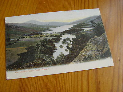 TOP1165 - Postcard - The Queen's View, Loch Tummel 1906