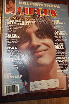 CIRCUS # 176 March 2, 1978 KISS Photos, Freddy Mercury poster STILL ATTACHED