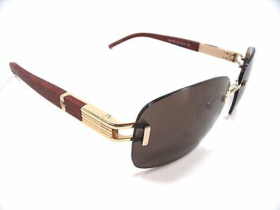 Mont Blanc Sunglasses MB 408S Gold 28J Frame New Authentic
