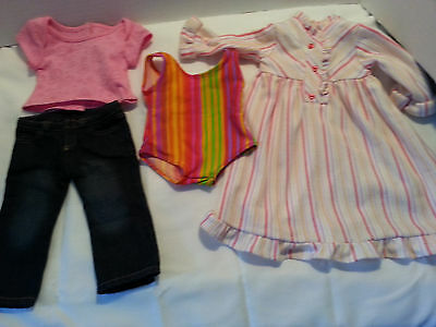 American girl doll retired lot mixed clothes lot