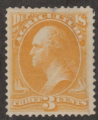 USA Scott #  O  3 Official Agriculture Department 3 Cent used  ( o3-3)