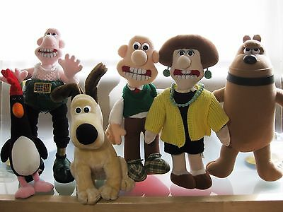 Wallace And Gromit - Large Characters Collection. Soft Toys Born To Play 1989