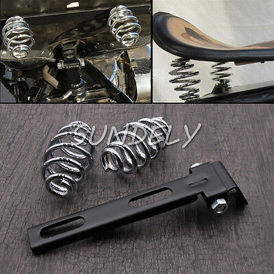 Motorcycle Solo Seat 3 inch Springs Mount Bracket Kit For Harley Chopper Bobber