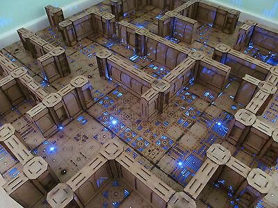 Maze of the dead 4x4 wargame warhammer forgeworld zone mortalis infinity dungeon
