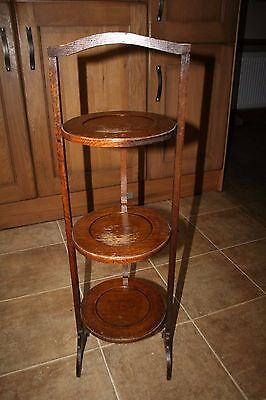 Old Wooden 3 Tier Cake  Plant Stand