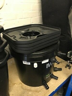 IWS Oxy-pot R DWC 4 Pot System And Extras