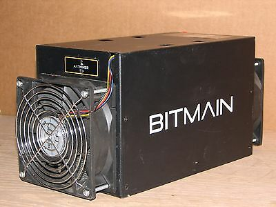 used BITMAIN ANTMINER S3+ Bitcoin Miner Part Tested for Parts or Repair unit #30