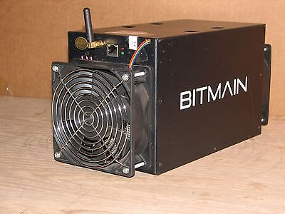 used BITMAIN ANTMINER S3+ Bitcoin Miner Part Tested for Parts or Repair unit #32