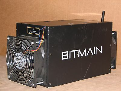 used BITMAIN ANTMINER S3+ Bitcoin Miner Part Tested for Parts or Repair unit #34