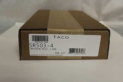 Taco SR503-4  3 Zone Switching Relay - NEW IN SEALED BOX