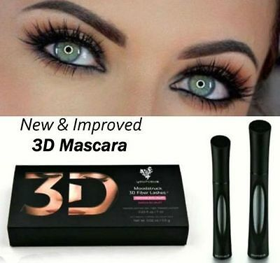 New Younique Moodstruck 3D + Plus Lashes Fiber Fibre Mascara UK SELLER! Sealed