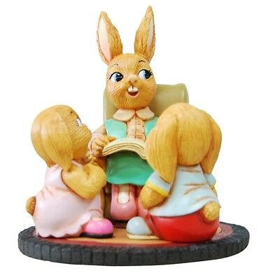 PenDelfin Rabbit Collectible Figurine - Story Time