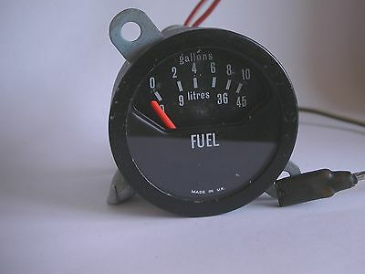 Smiths Fuel Gauge 10 Gallons 45 Litres Classic Vintage Bf 2218/00 Uk
