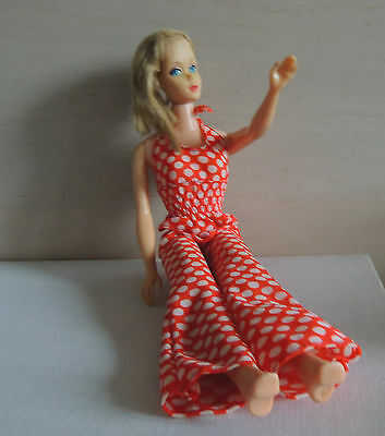 Barbie Puppe Doll 60er Standard Barbie Modell #1190 USA, Anzug 70er original