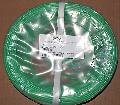500 FT of Paige Wire 22 Gage 4 Wire Green