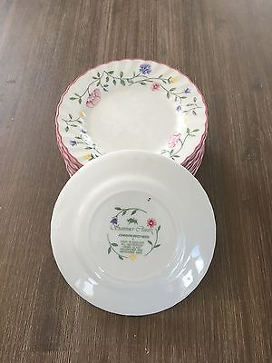 """Johnson Brothers """"Summer Chintz"""" side plates 15,5 cm (12 pce's)"""