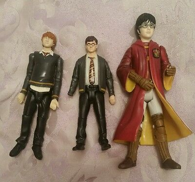 3 Harry Potter Figures approx 4-5""