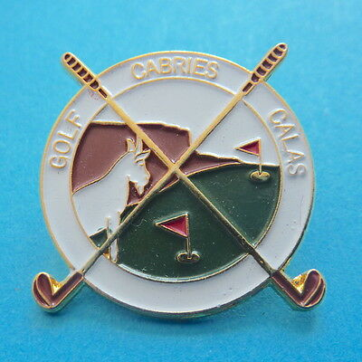 pin's insigne badge GOLF CABRIES CALAS