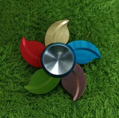 Bluetooth Speaker PORTABLE SPEAKER Music LED Fidget Spinner EDC Gyro Hand Toy