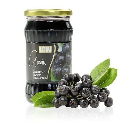 LCW Sugar Free Aronia Jam 340 g, Low Carb, No Added Sugar