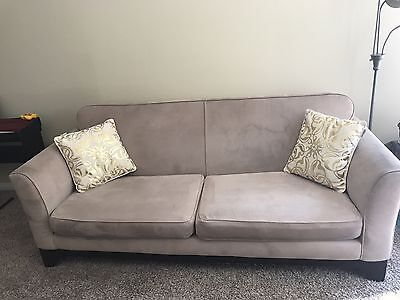 Sofa and loveseat together