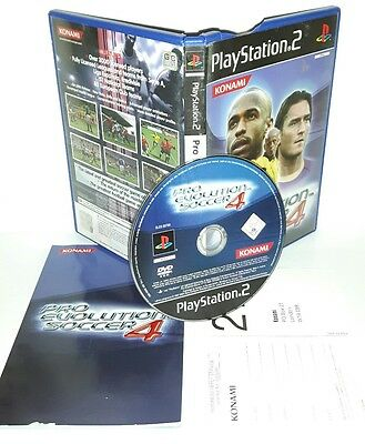 PRO EVOLUTION SOCCER 4 PES 4 - Playstation 2 Ps2 Play Station Gioco Game Sony