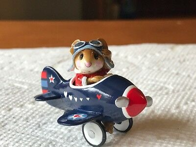 Wee Forest Folk Expo Love American Style Charity Auction Pedal Plane (LE of 12)