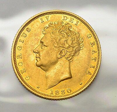 1830 Sovereign George Iv  ®1064