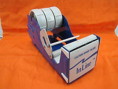 InLine Commercial Desktop 3 Inch Packing Tape Dispenser HvyDty <>BuyNOW~GetFAST