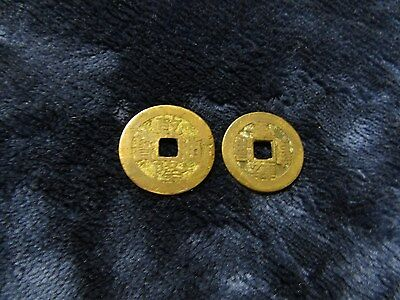 2~ Antique Vintage~ Collectible Chinese Ancient Coins