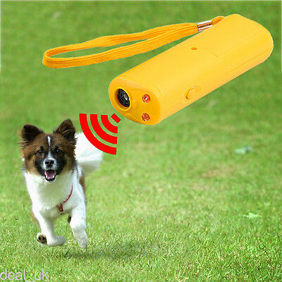 Ultrasonic Anti Bark Barking Dog Training Tool with LED 3 in 1 kla0