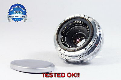 Carl Zeiss Opton Biogon 35mm f2.8 stunning small wide angle lens Contax RF