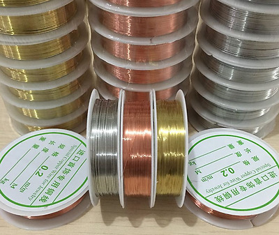 Wholesale 0.2mm-----1mm Lot Soft Copper Wire/Wire line for DIY Jewelry Making