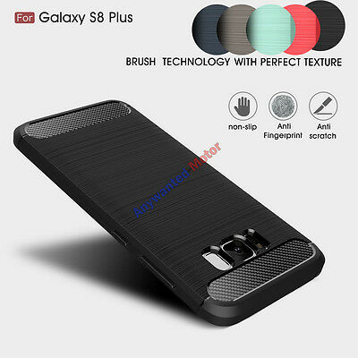 Genuine Carbon Fiber Anti Shock Case Cover For Samsung Galaxy S8 Plus&J5/J7 2017