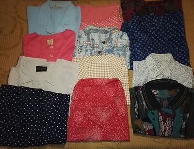 Lotto stock 10 camiciette e 2 t-shirt tg. L