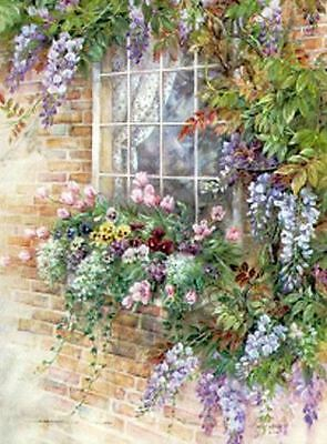 "Counted Cross Stitch Kit ""Window Garden"" by Andrea's Designs"