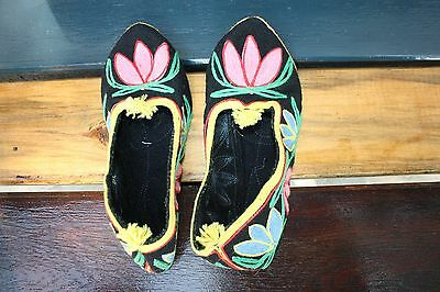 Vintage Hand Made Bulgarian slippers