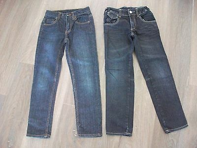2x Boys size 7 - 8 Jeans with adjustable waist - TARGET - *Excellent Con*