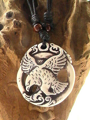 Native American Necklace, Soaring Eagle sage Blessed By Native American Zane.M