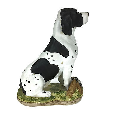 DAVE GROSSMAN DESIGNS Pointer HDC-3 1981 Hunting Dog Figurine SIGNED